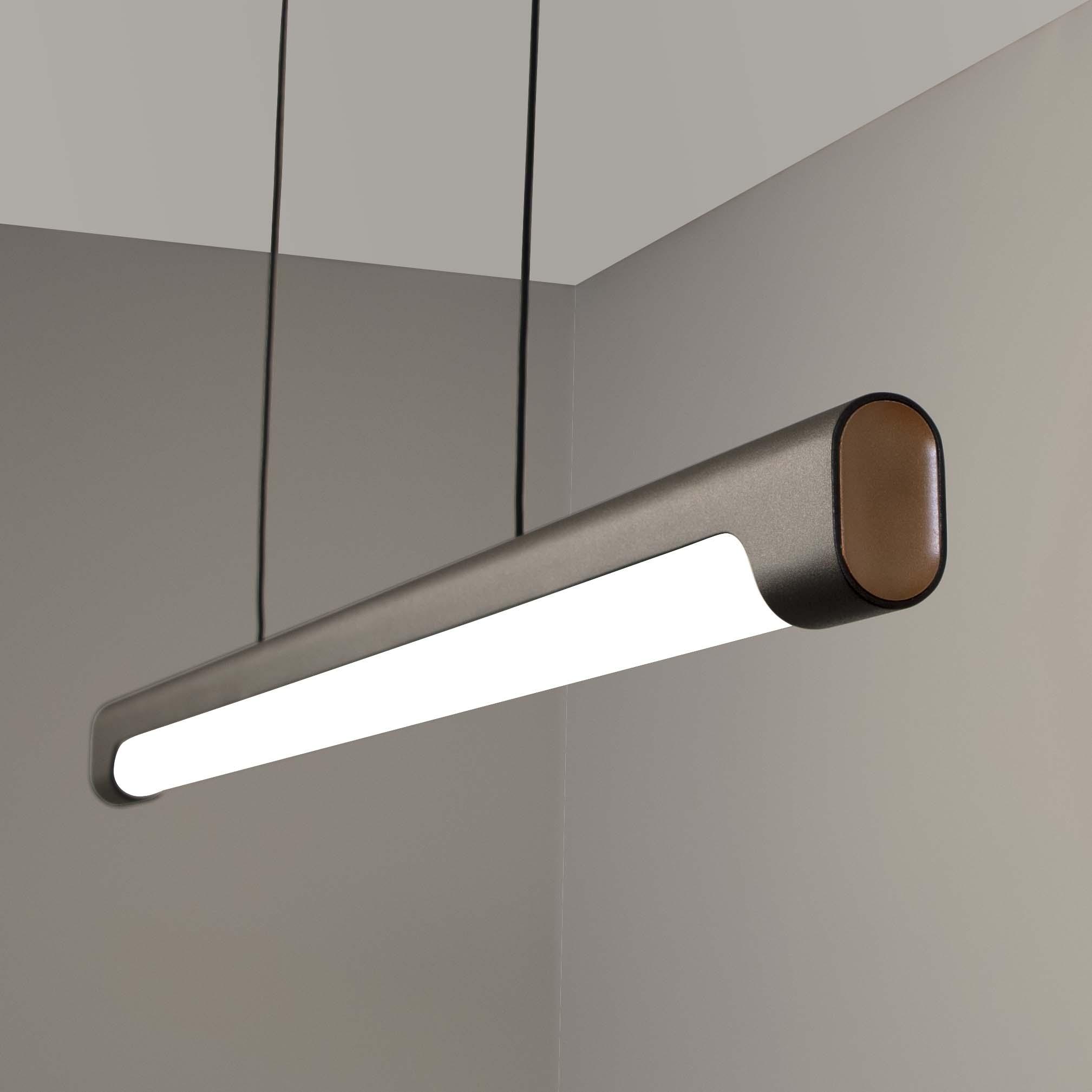 Visa Lighting suspended LED linear pendant light