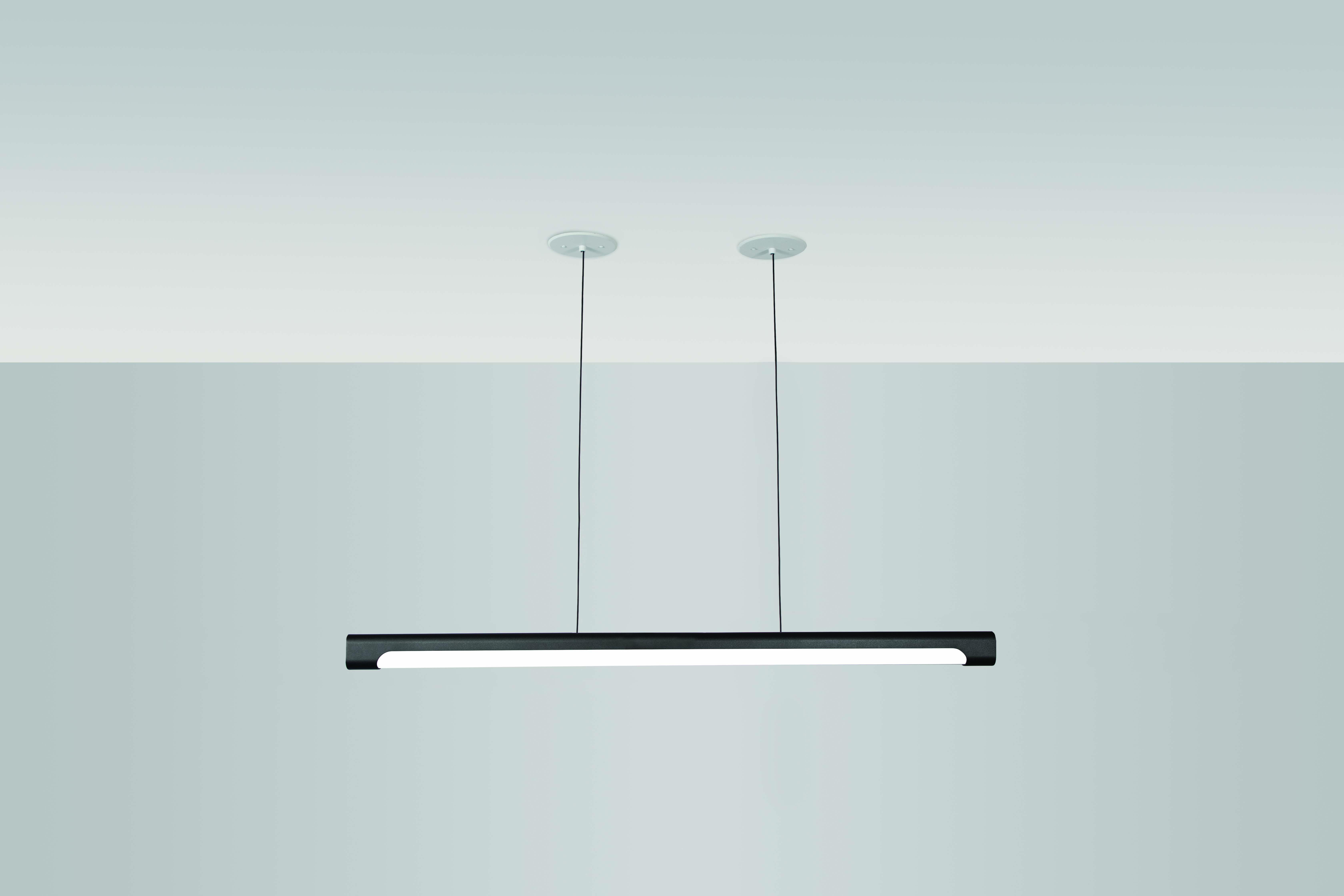 Nacelle linear LED pendant 48in length by Visa Lighting