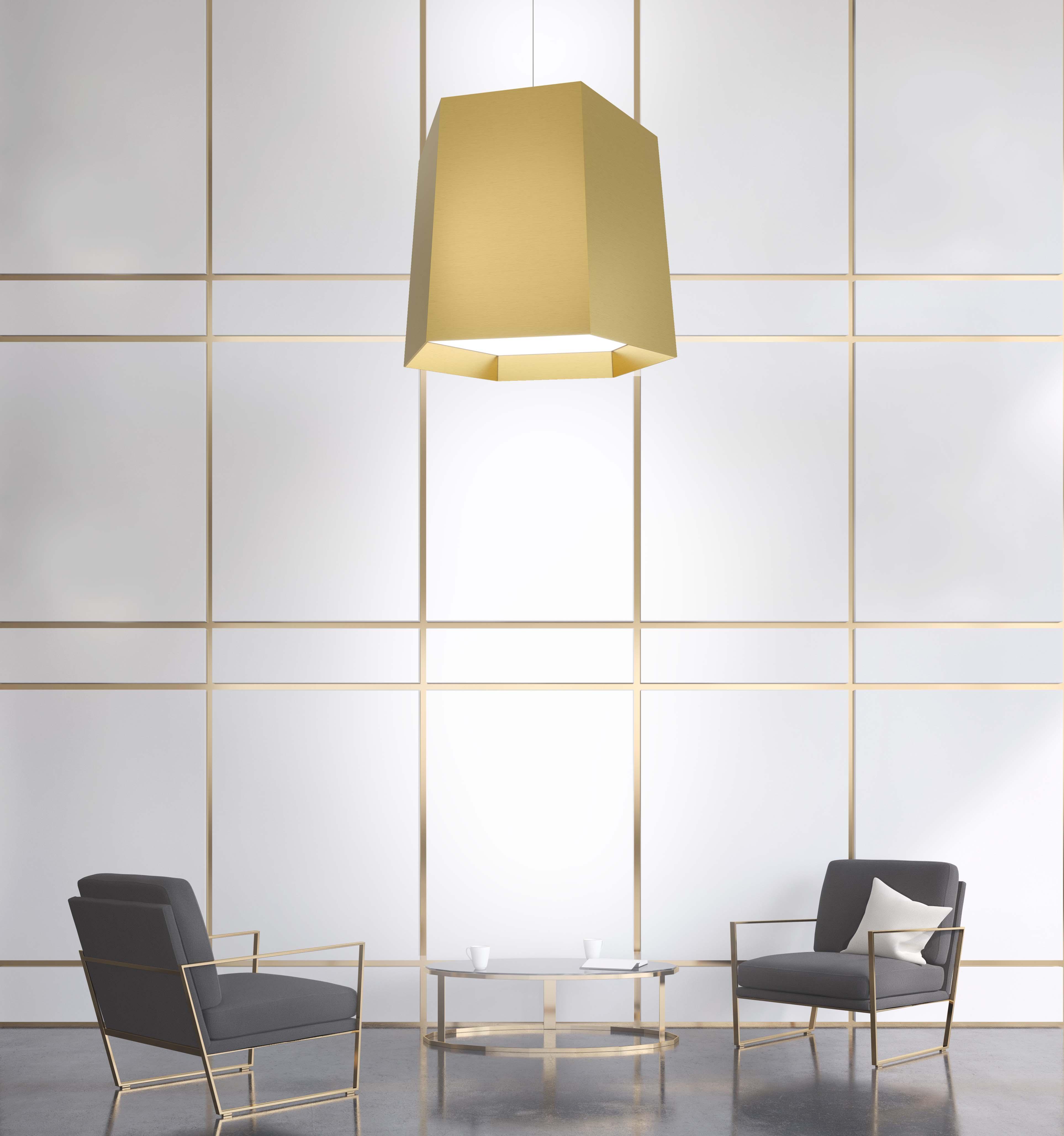 Large pendant lighting for high ceilings by Visa Lighting