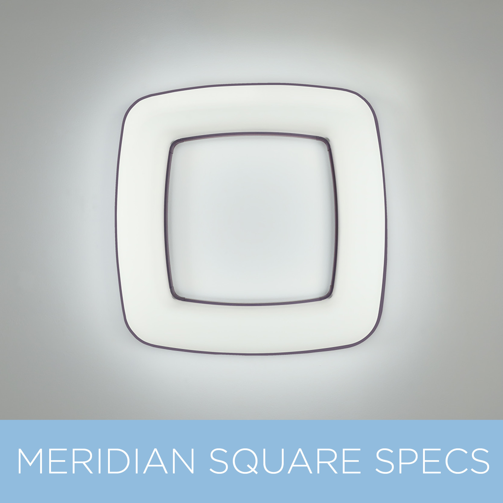 Meridian Square modern sconce