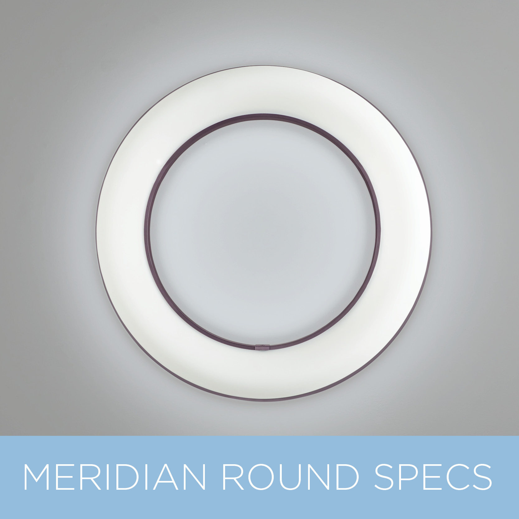Meridian Round modern sconce