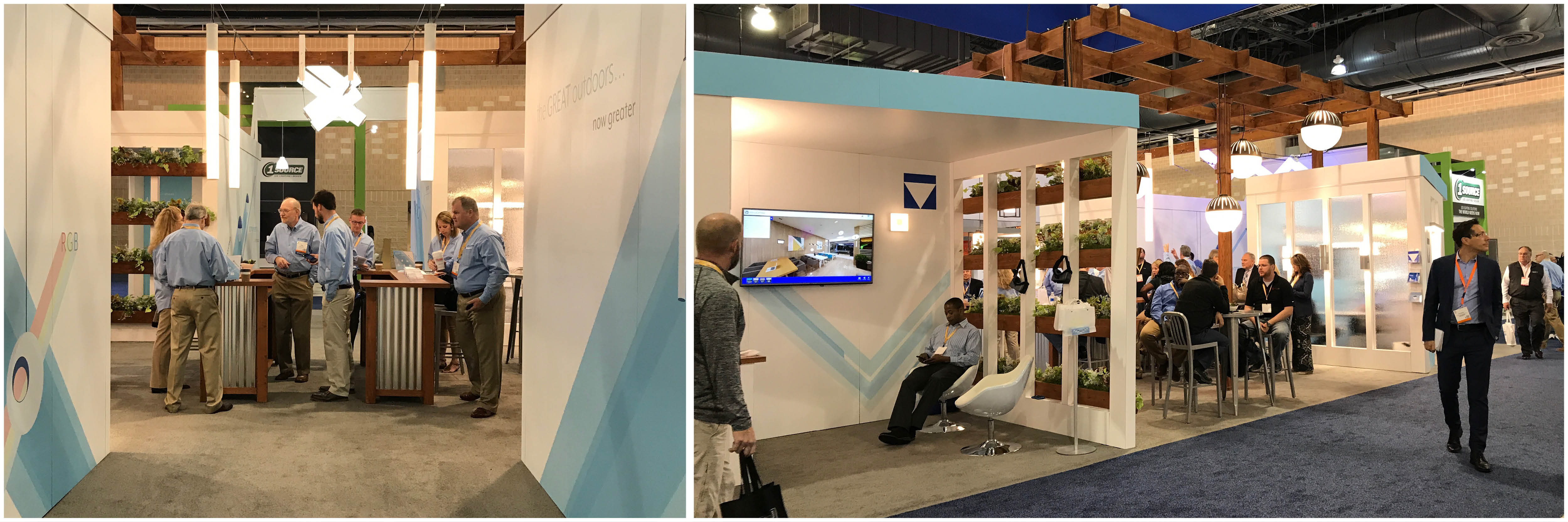 Our Visa Lighting teams had a great time showing off tunable LED lighting while at 2017 Lightfair.