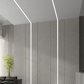 Linesse linear recessed, surface, and pendant luminaires