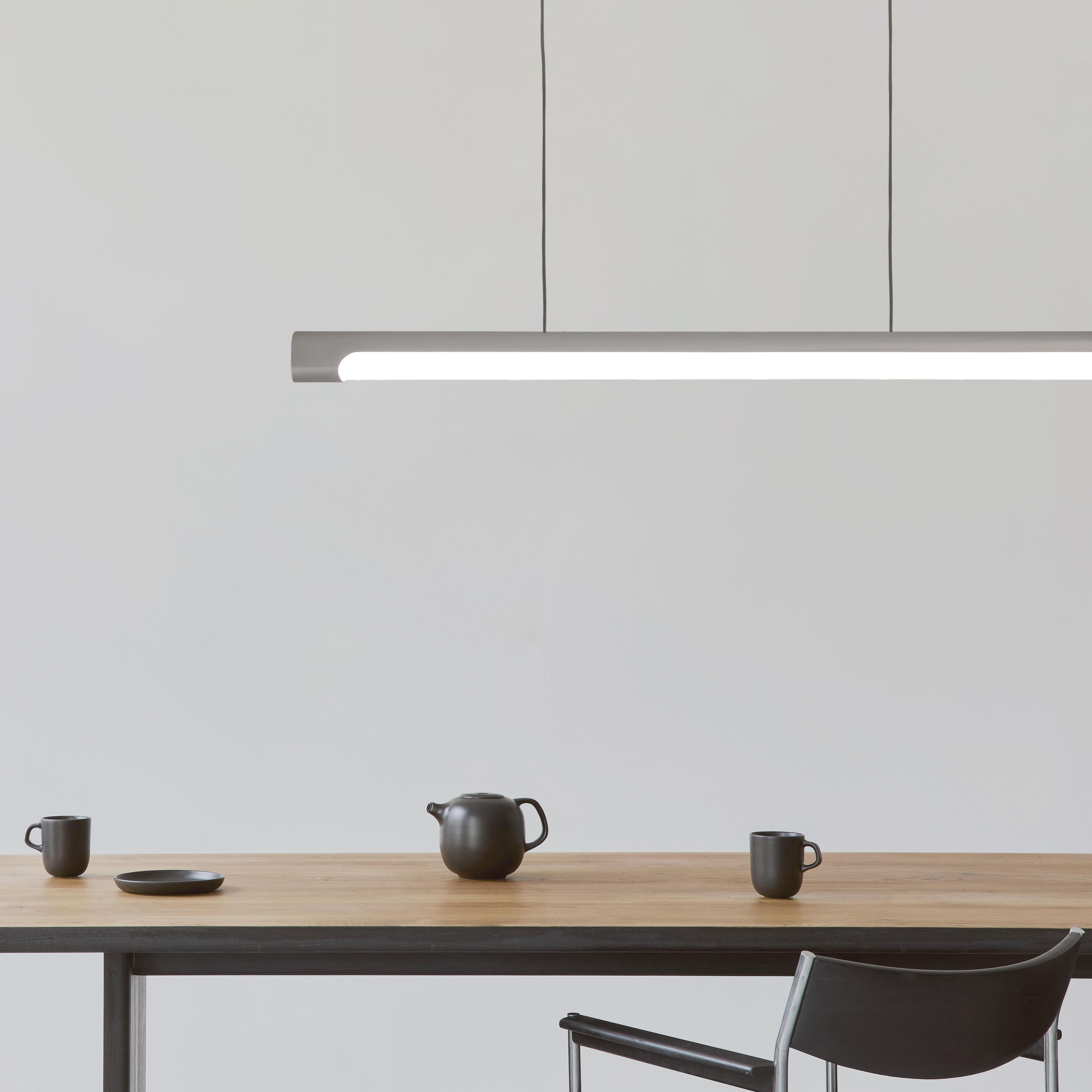 Nacelle linear LED pendant 48in length healthcare