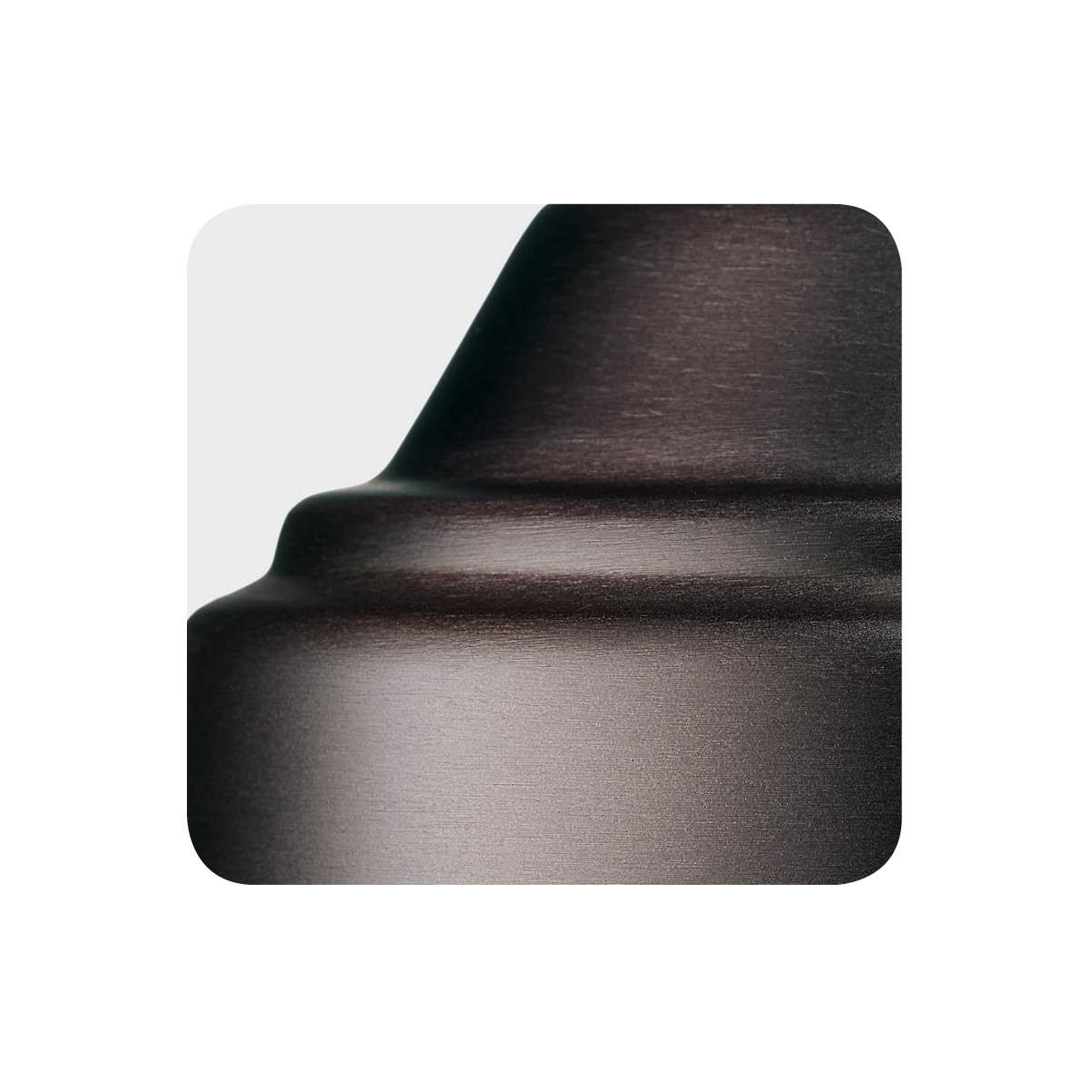 Oil-rubbed bronze alternative metal finish sample