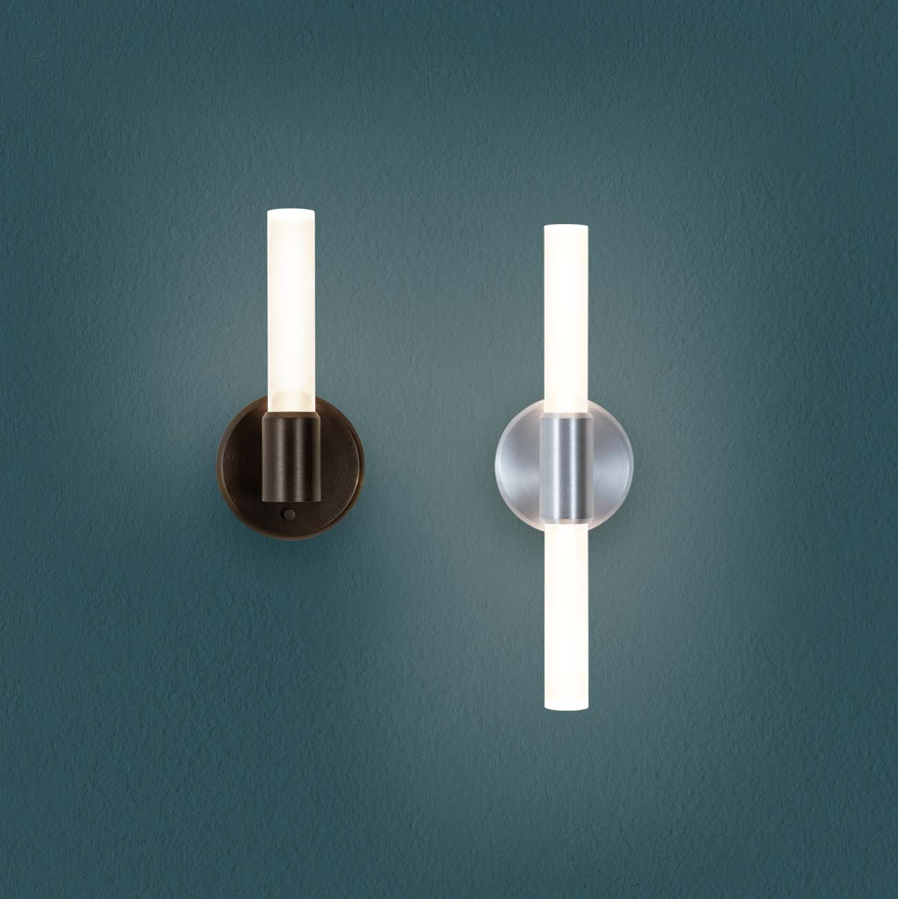 Theo candelabra style rod sconces