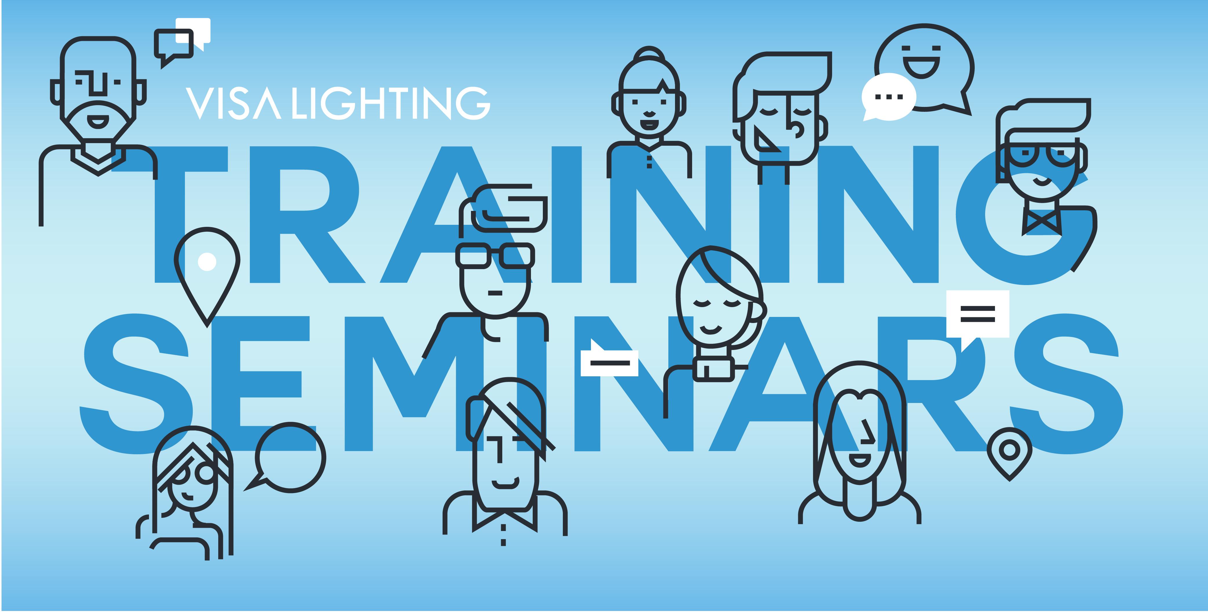 Visa Lighting in house lighting trainings and seminar dates.