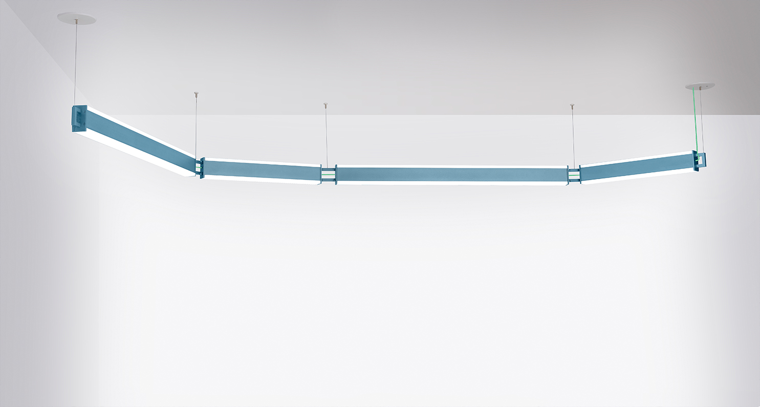 Catena linked linear pendants