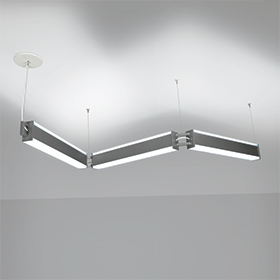 Catena linked linear pendants