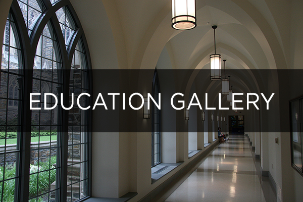 Education lighting gallery