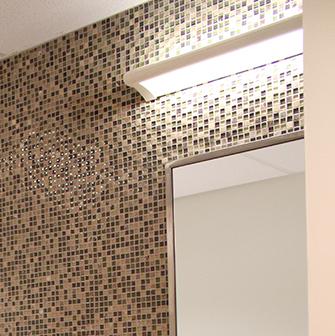 Ether healthcare bathroom lighting