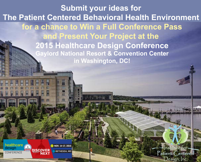 Institute for Patient-Centered Design Competition