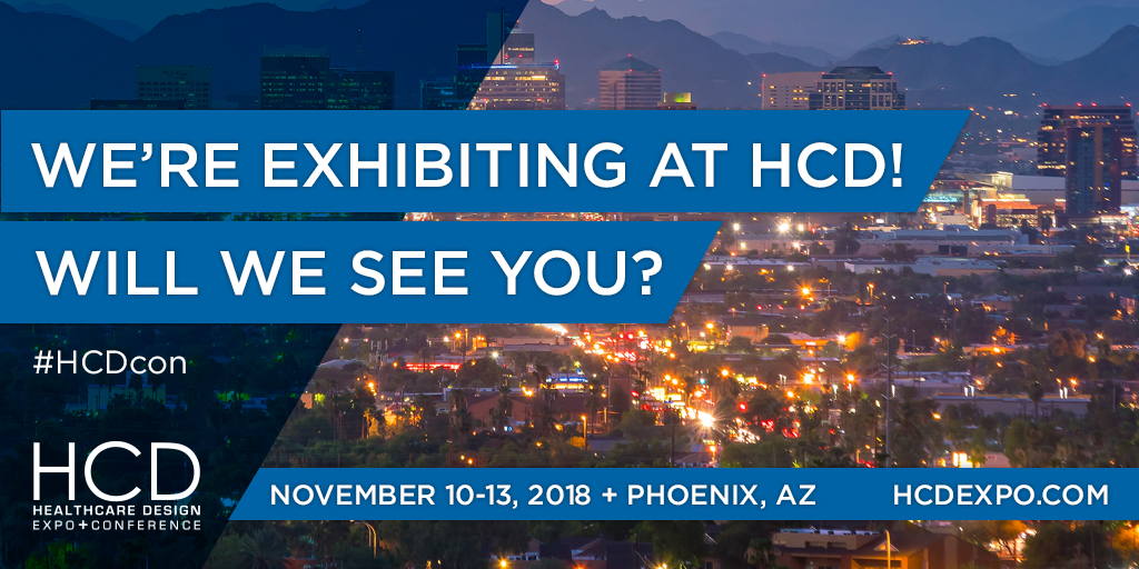 Healthcare Design conference invitation for HCDcon 2018 in Phoenix