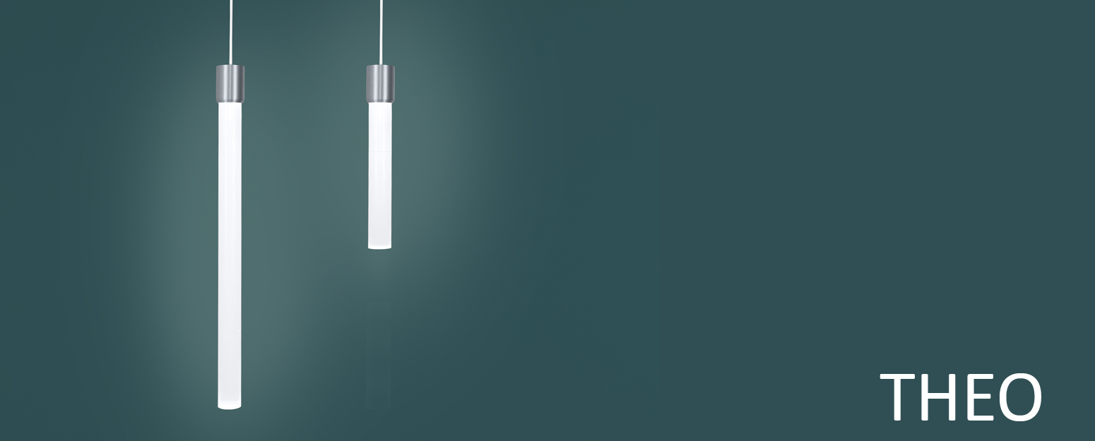 Theo LED architectural pendant light