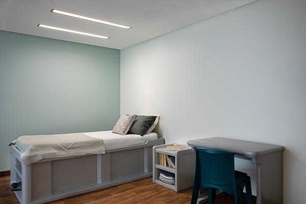 Lenga behavioral health ceiling luminaire