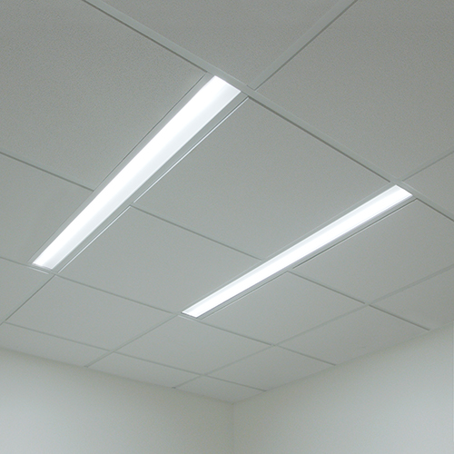 Lenga asymmetric dual overbed slot luminaires