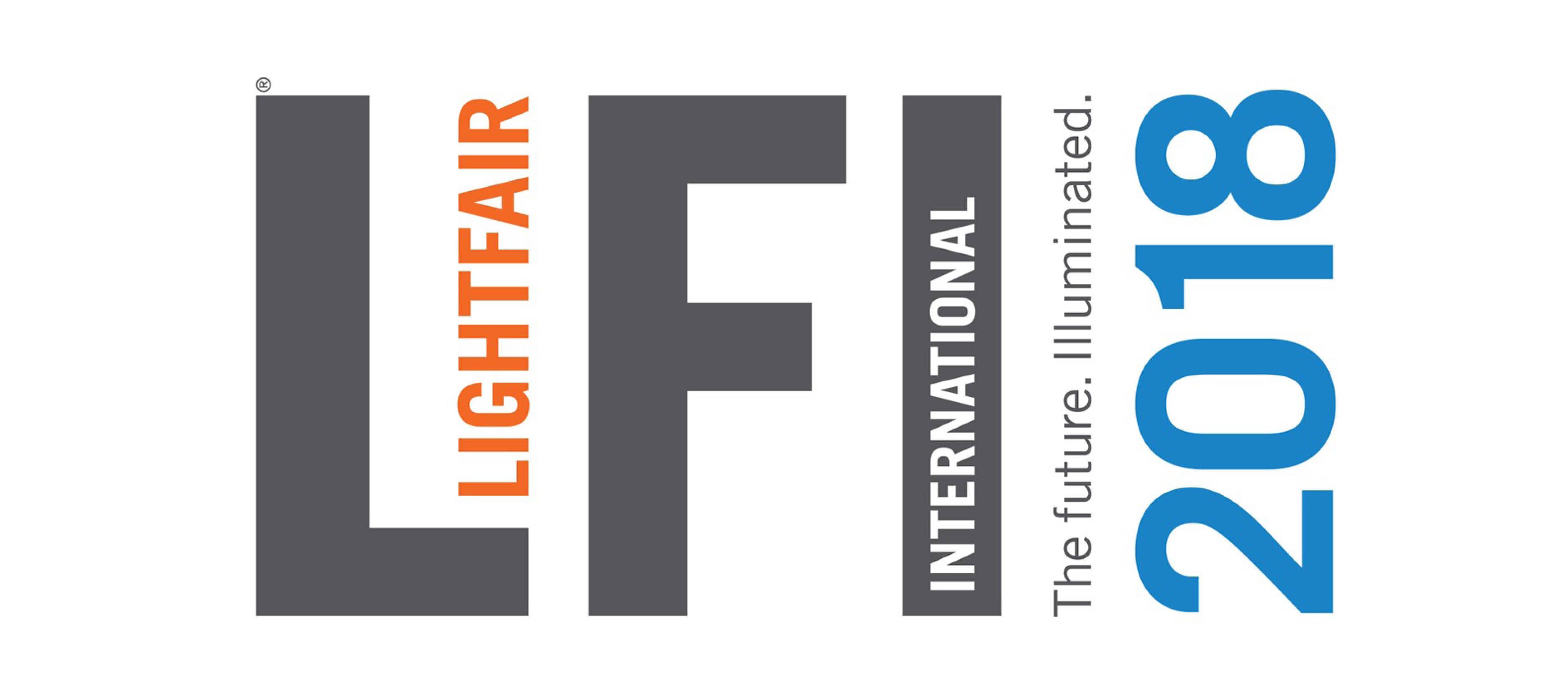 Lightfair 2018 logo.