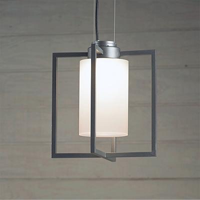 Laterna, the modern lantern style outdoor pendant lighting fixture