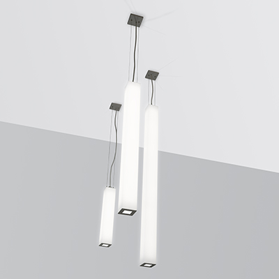 Sequence Square luminous square cylinder pendant