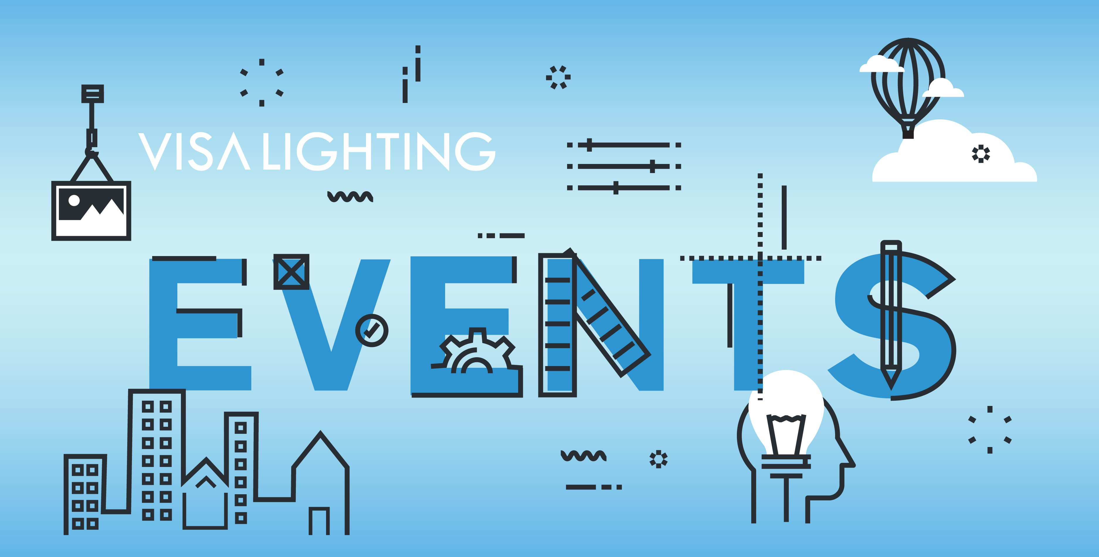 LED and industrial lighting events