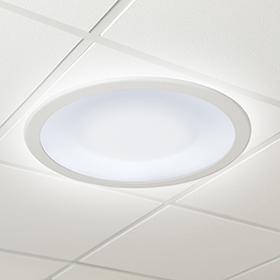 Symmetry ceiling luminaire