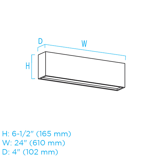 Linear Art Sconce CB3146 ISO