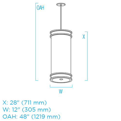 Cylinder CP4347 ISO