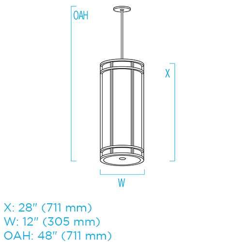 Cylinder CP4351 ISO
