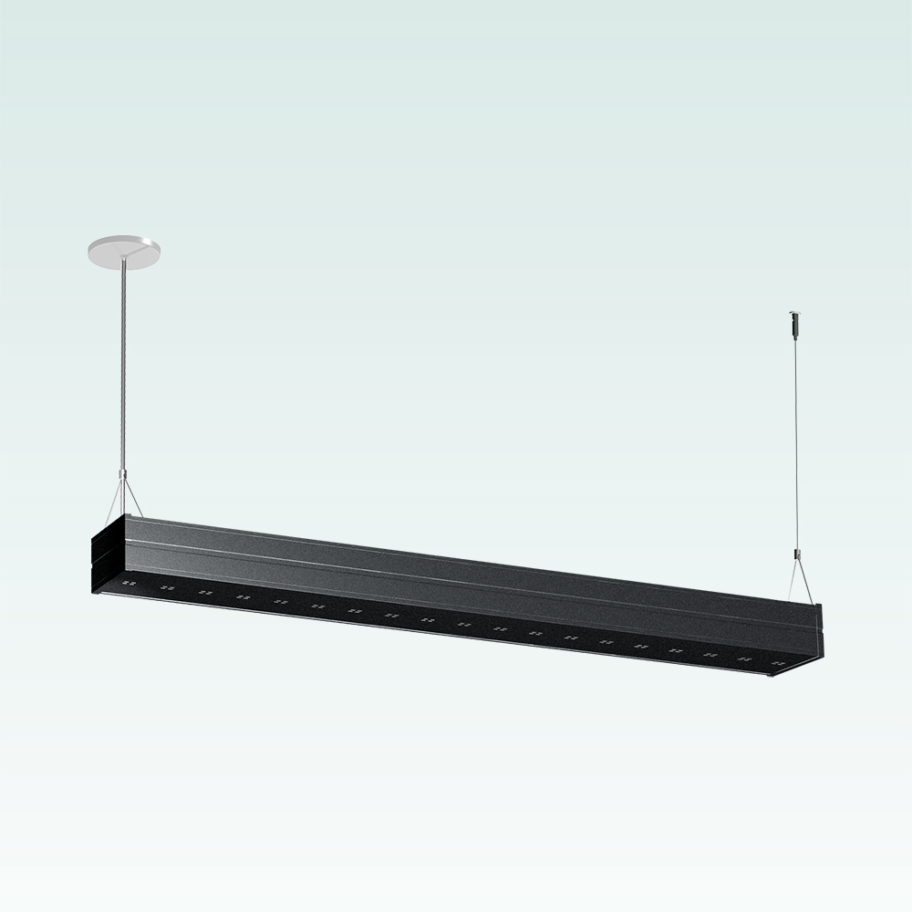 A straight indirect pendant segment