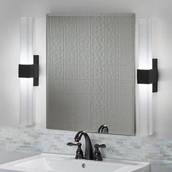 Healthcare bathroom lighting