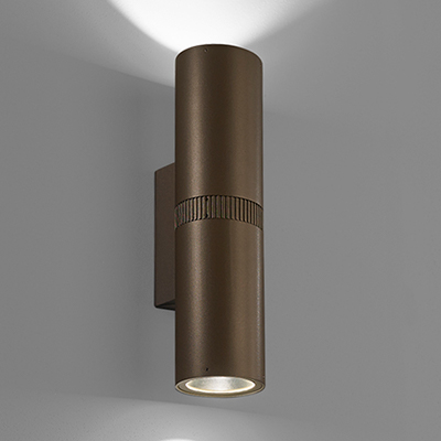 Scope outdoor sconce, which will be shown at Salex Light Up Your Landscape 2018