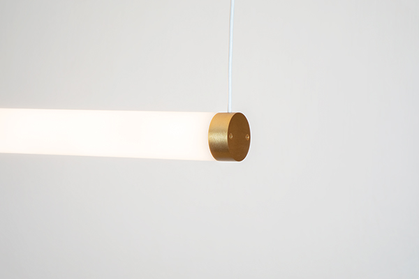 Sequence Mini luminous pendant in horizontal model