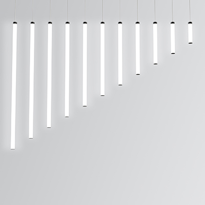 Sequence Mini luminous pendants of several sizes