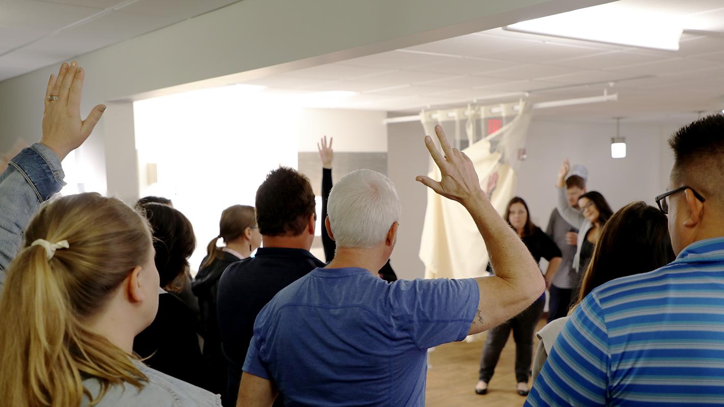 Training seminar at Visa Lighting