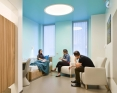 Behavioral healthcare patient room anti ligature lighting