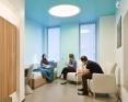 Behavioral healthcare patient room anti ligature lighting
