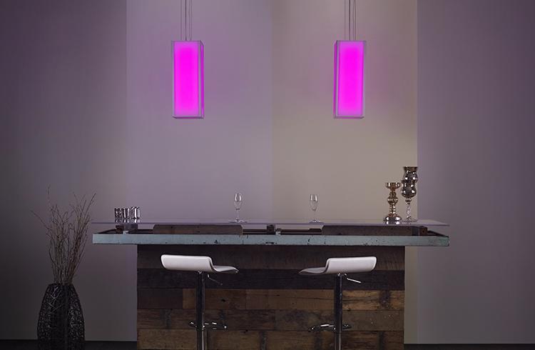 Hospitality bar lighting RGB and white led