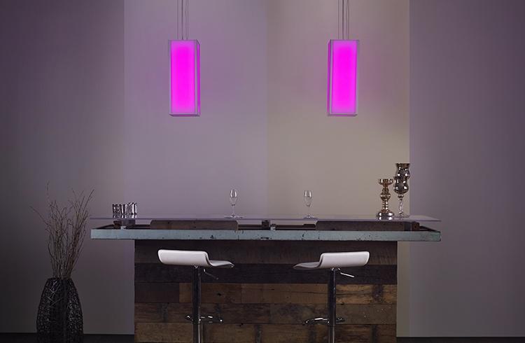 Hospitality bar lighting RGB and white led