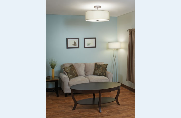 Allegro - Curved Ceiling and Floor Lamp
