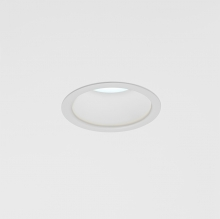 Cade, a recessed downlight with continuous disinfecting technology