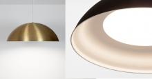 Hellen - unique flat lense dome pendant