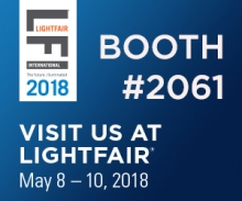 Visit us at LightFair, booth #2061