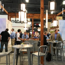 Visa Lighting's 2017 LightFair booth.