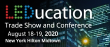 Leducation 2020 information, August 18-19 at NY Hilton Midtown