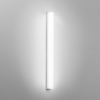 Voila Clean Cylindrical Wall Sconce Lighting Fixture