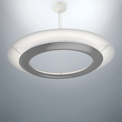 LED Pendant, Mid-Century Modern Lighting, Unique Lighting, Indirect Ambient LED Lighting