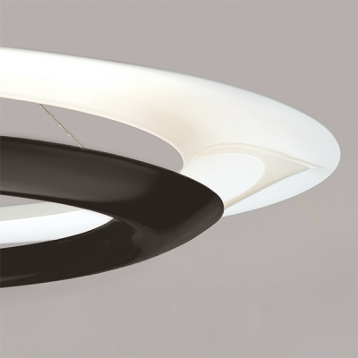 LED Pendant, Mid-Century Modern Lighting, Unique Lighting, Indirect Ambient LED Lighting