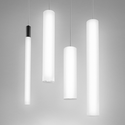 Great Sequence LED | Luminous Cylinder L.E.D. Lights In Any Size | Visa Lighting