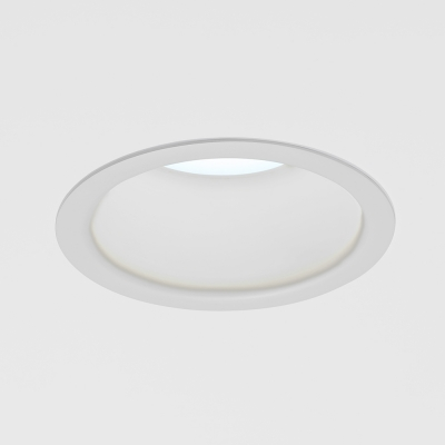 """A round downlight with a 6"""" aperture"""