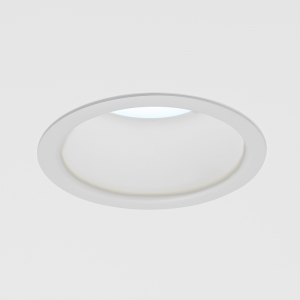 "A round downlight with a 6"" aperture"